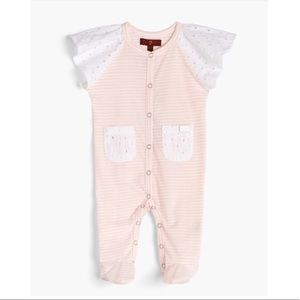 Other - Seven for All Mankind Baby Girl Footie